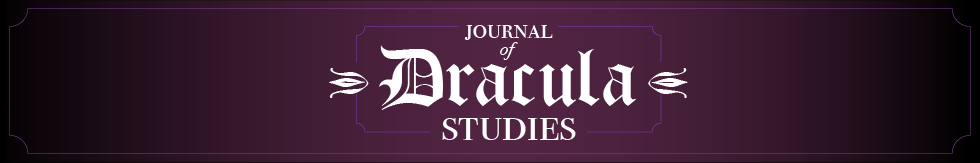 Journal of Dracula Studies