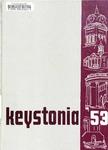 1953 Keystonia by Kutztown State Teachers' College